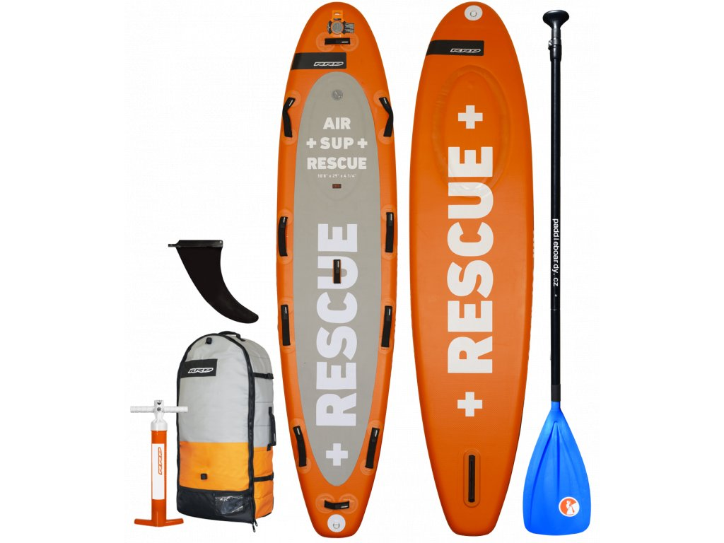 rescue nafukovaci paddleboard rrd novy model komplet s padlem sup karlin hlinik