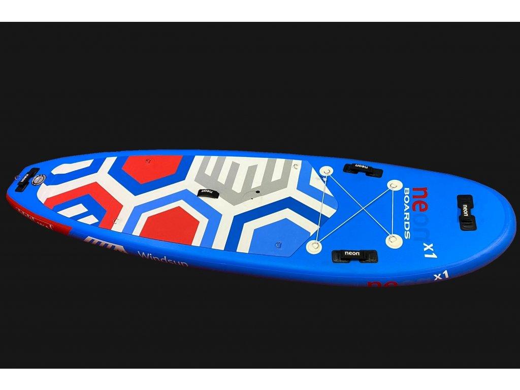Neon X1 2021 Windsup komplet s STX Powerkid rigg