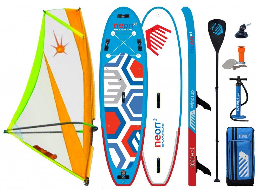 Neon X1 2021 Windsup set s XO Sails7 web