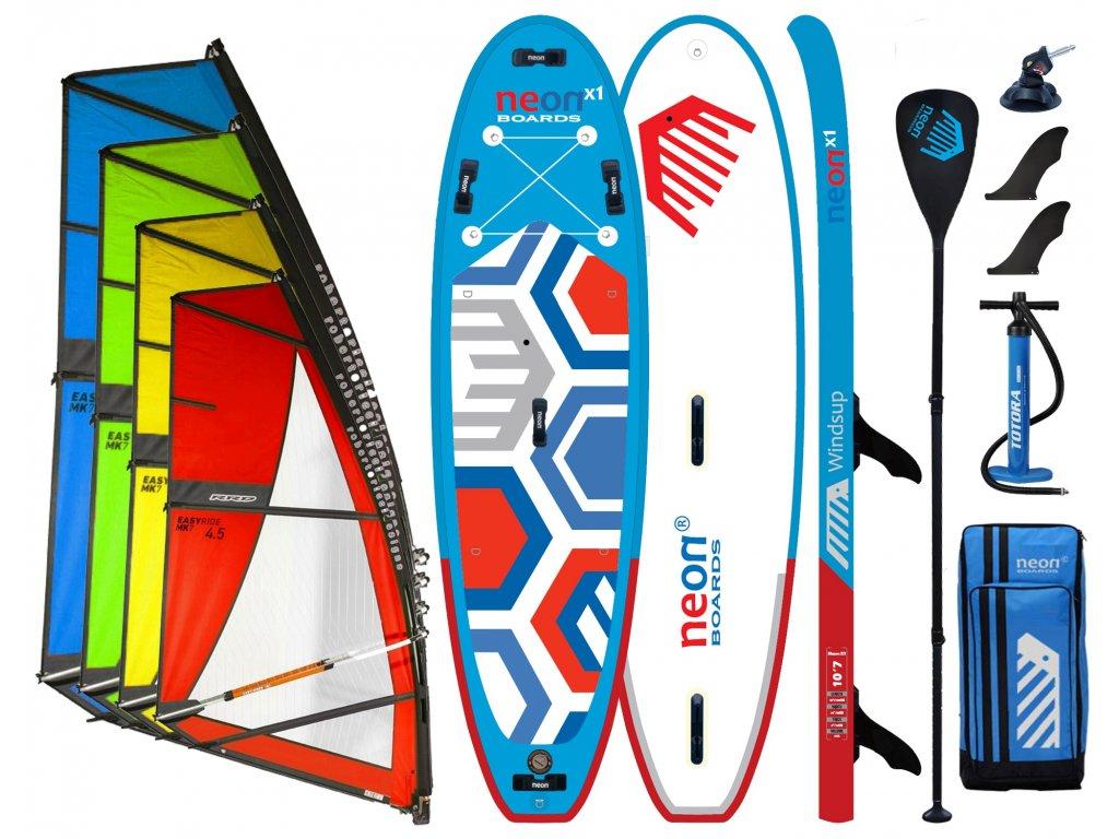 Neon X1 2021 Windsup set s RRD Easyride