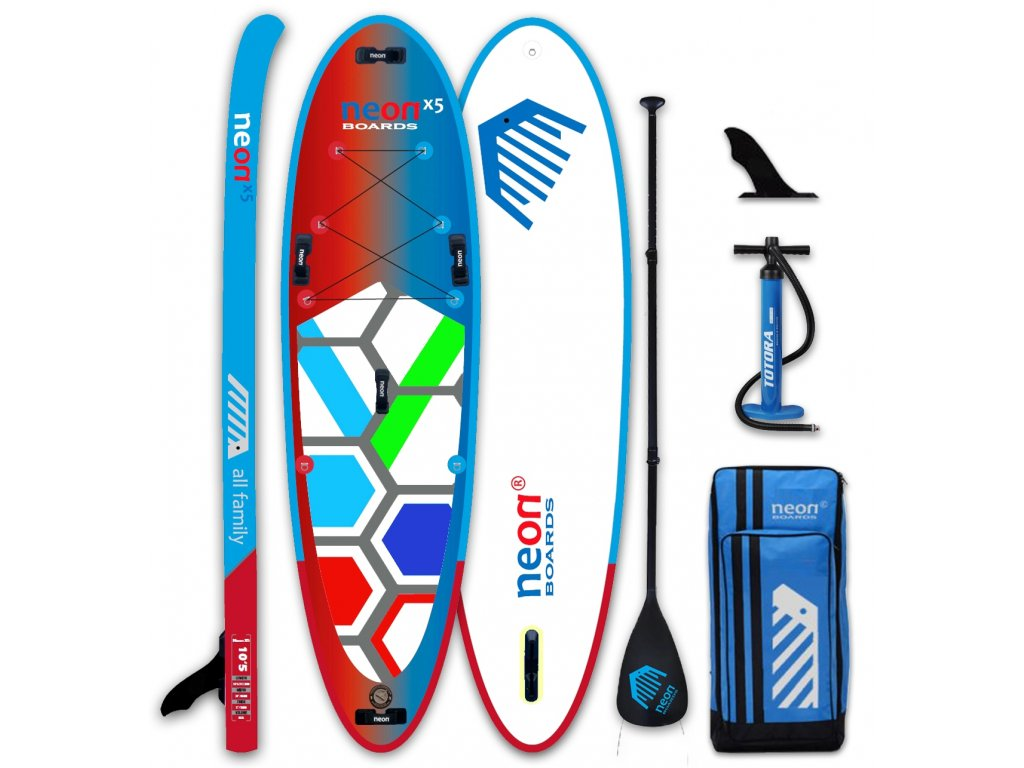 Neon X5 All Family 10´5 with paddle