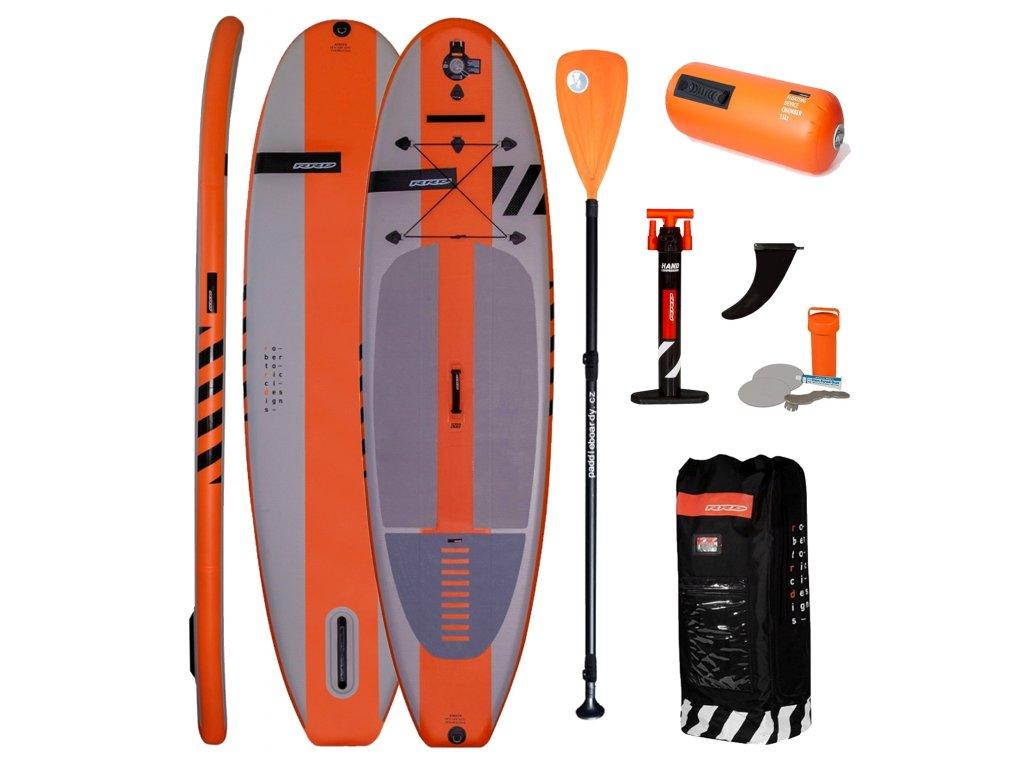 RRD Air Evo Y26 orange paddle SUp Karlin www.paddleboarding.cz