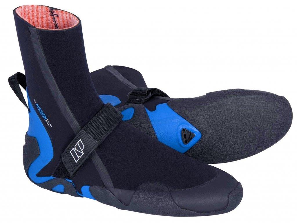 neoprenové boty Neilpryde Mission 5mm vysoké