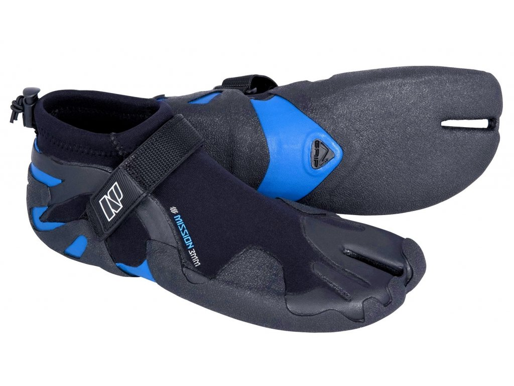 neoprenové boty Neilpryde Mission 3mm s děleným palcem nízké