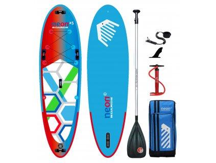 Nafukovací paddleboard Neon X5 All Family 10'4″x34″x5″ 2020 - komplet s pádlem