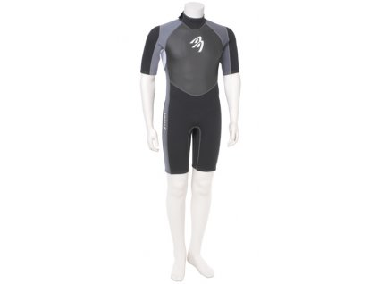 neopren ascan short silver black windsurfing karlin