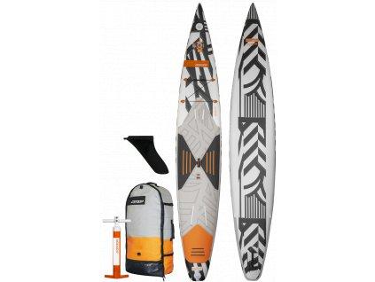 komplet airace s pumpou batohem finem v5 rrd nafukovaci speed paddleboard sup karlin