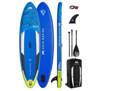 beast nafukovaci paddleboard