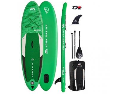 breeze nafukovaci paddleboard aqua marina