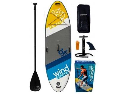 windstream nafukovaci paddleboard dvsport oplachtitelny