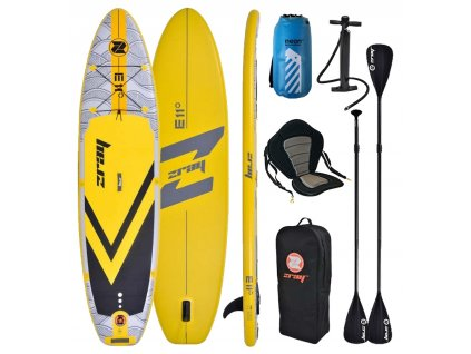 paddleboard zray e 11 11 0 32 combo kajak set neon dry bag