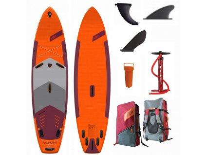 adventure nafukovaci paddleboard windsurfing all round fshing surfing touring 160 kg karlin