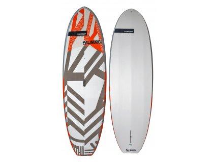 Pevný paddleboard palinuro 98 wood