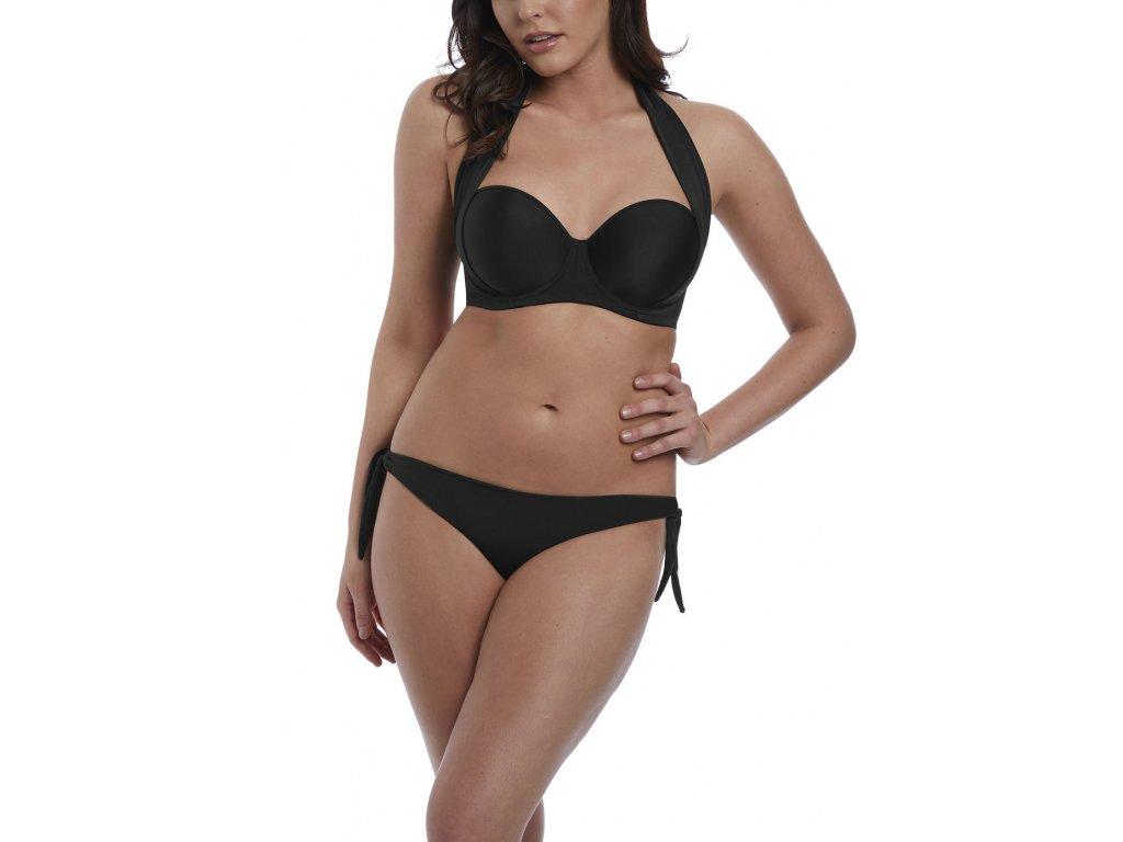 Freya Swim Deco Swim Black Moulded Multiway Bandeau Bikini cele