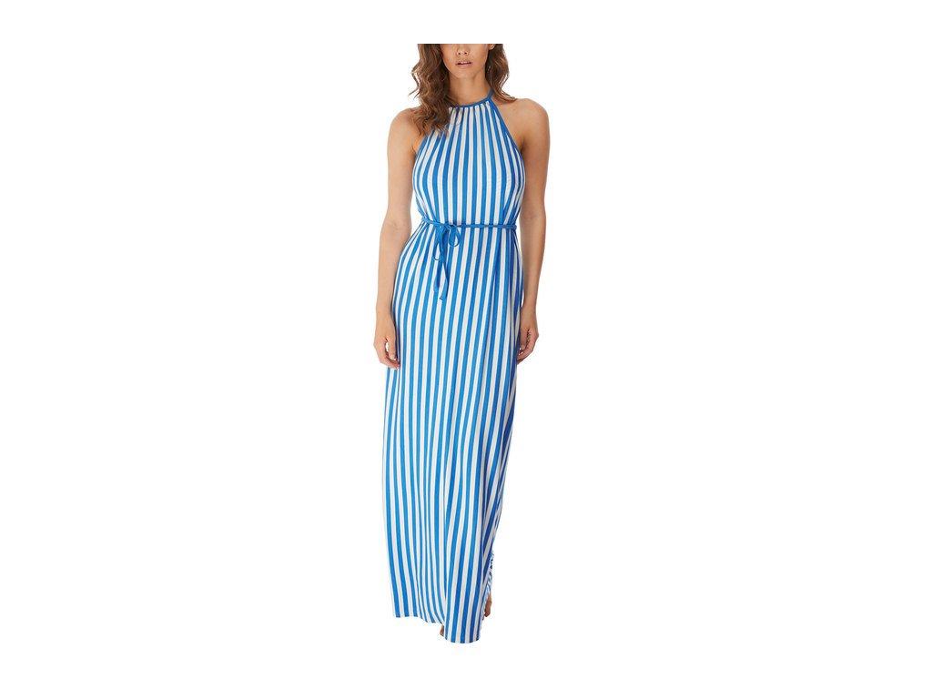 AS6799 BMN primary Freya Swim Beach Hut Blue Moon Maxi Dress
