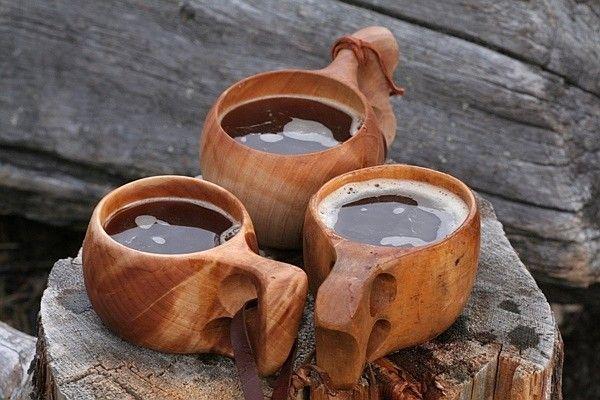 Dřevěné kuksy. Skandinávské kuksy. PAGANIA.CZ - pohanský obchod