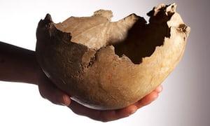 Pohár z lidské lebky. Keltský pohár z lebky. PAGANIA.CZ - pohanský obchod