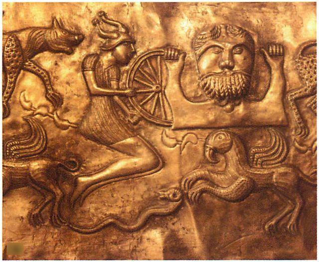 Keltský bůh hromu Taranis. Keltská kultrura Hallstatt a La Tène. PAGANIA.CZ - pohanský obchod