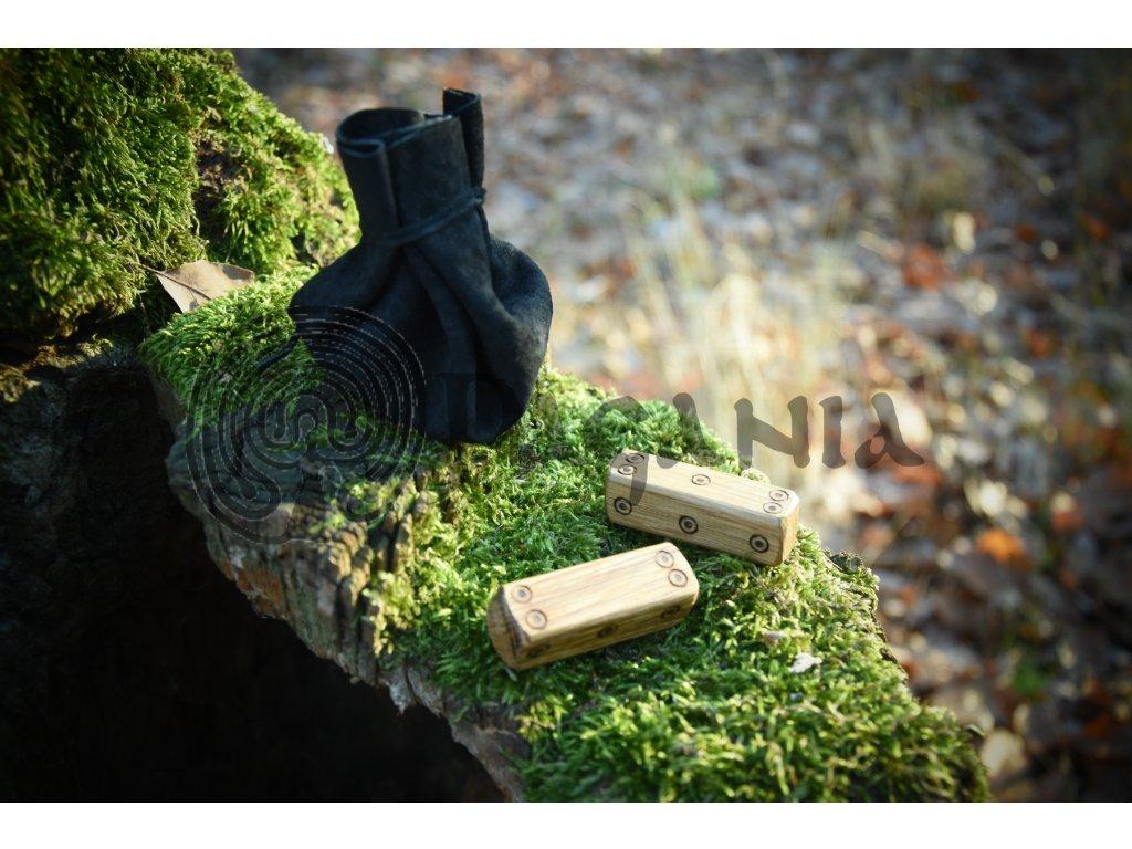 Keltské věštění. Bójské kostky