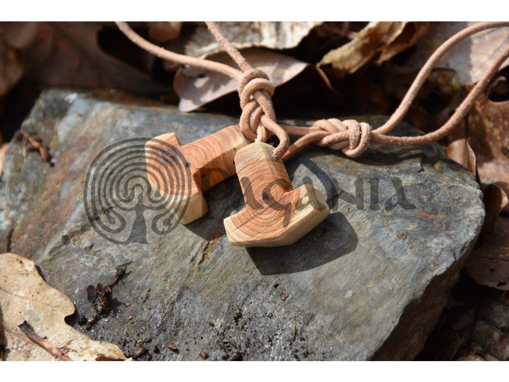 Vikingský amulet Thorovo kladivo Donor