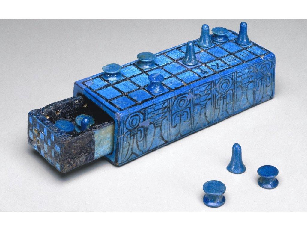 Egyptská desková hra Senet Osiris
