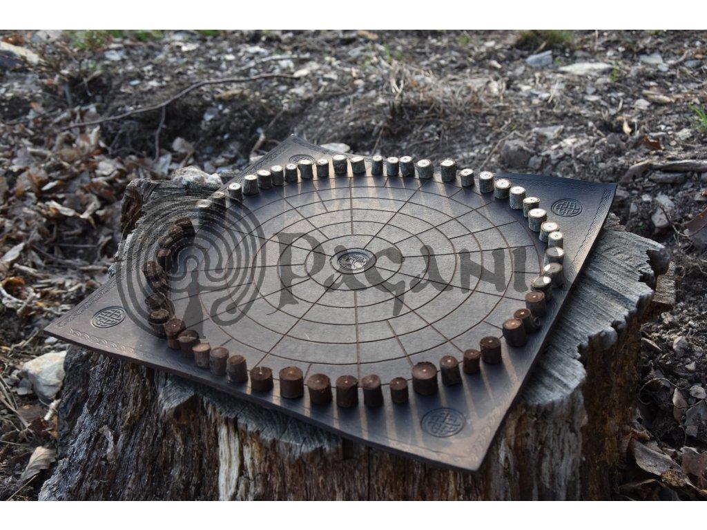 Keltská desková hra Druidský Fidchell