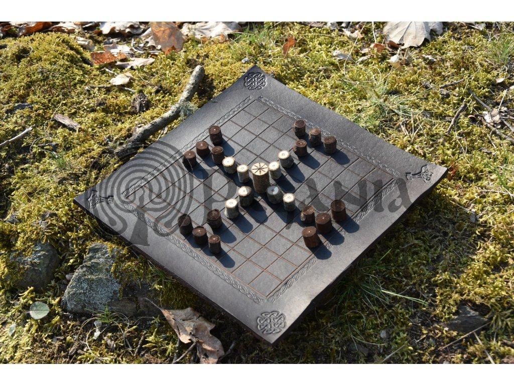 Vikingská desková hra Tablut Varyag