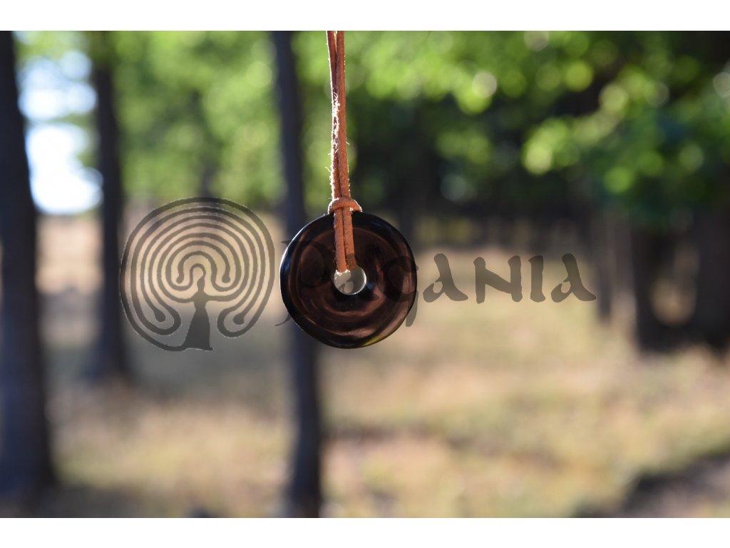 Pohanský ochranný amulet přívěsek vládce noci
