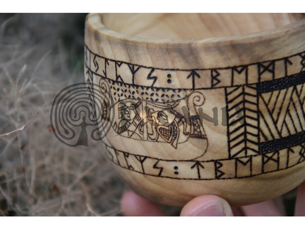 Vikingská kuksa - Drakkar