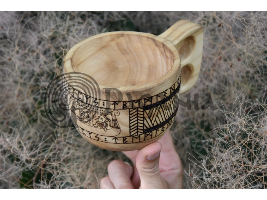 Velká vikingská kuksa guksi