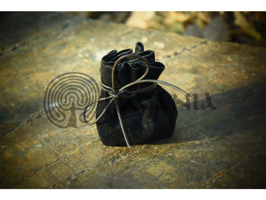 Kožený váček na hrací kameny