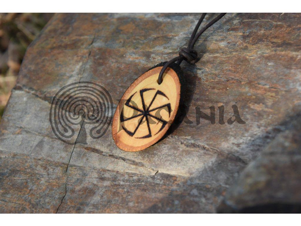 Slovanský amulet Kolovrat Kupalo
