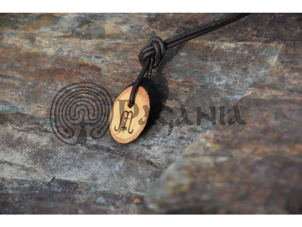 Pohanský amulet Wicca Mabon