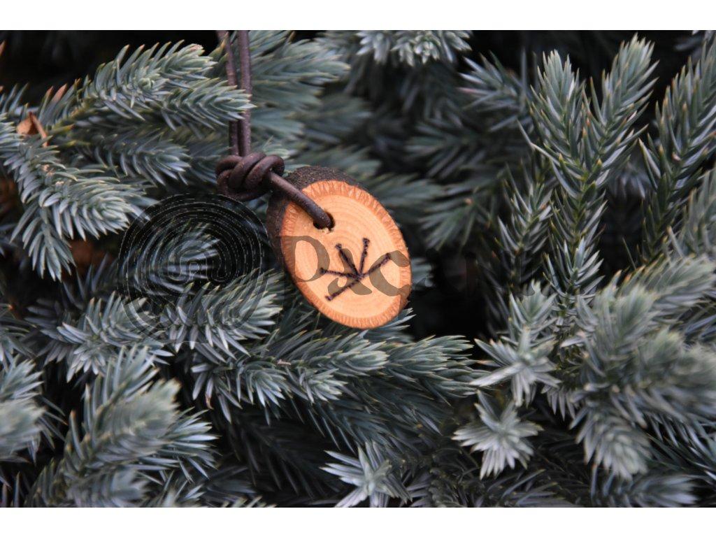 amulet přívěšek wicca symbol imbolc - pagania