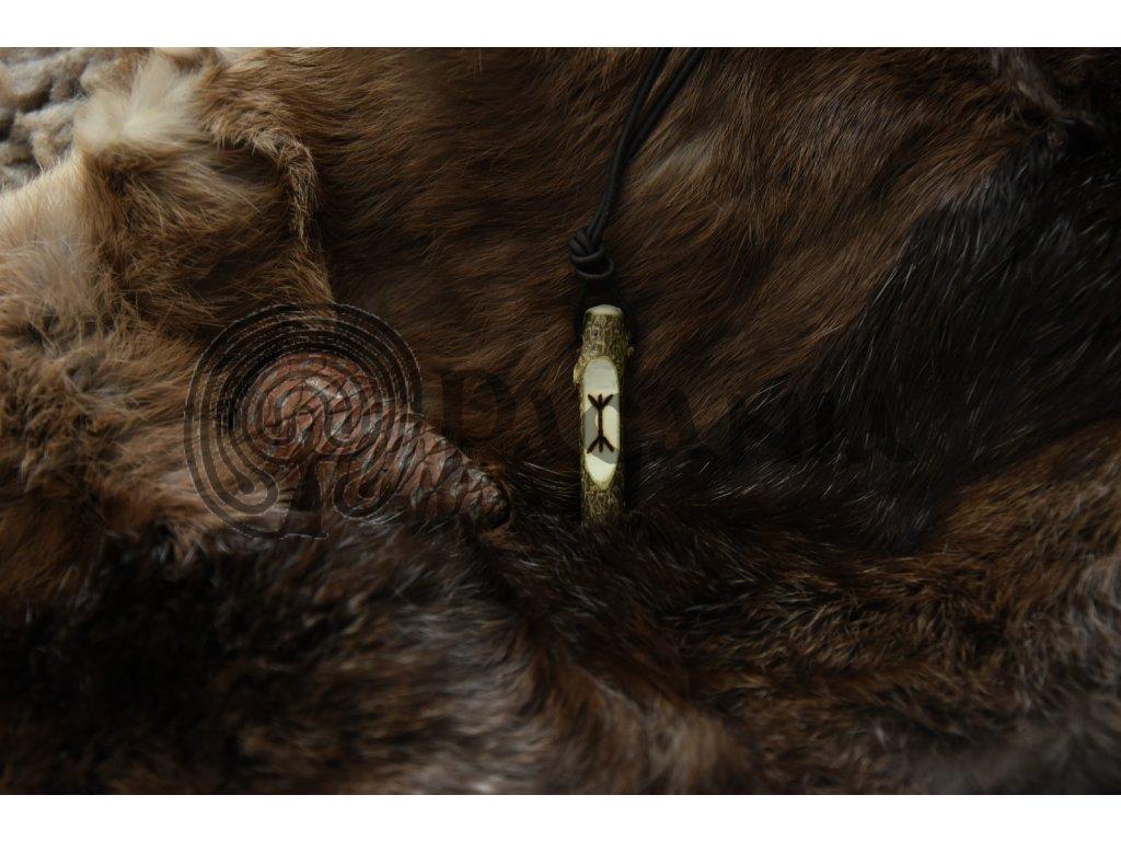 Amulet vikingský - božská dvojčata, NARHAVAL
