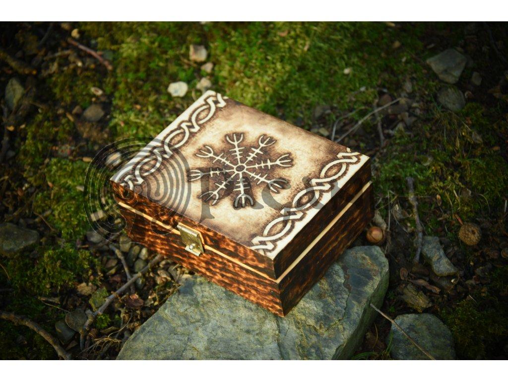Magická sada pro severskou magii a čarodějnictví.