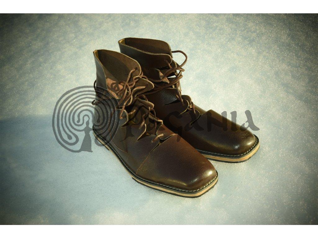 Historické boty pro raný středověk. ee23431275