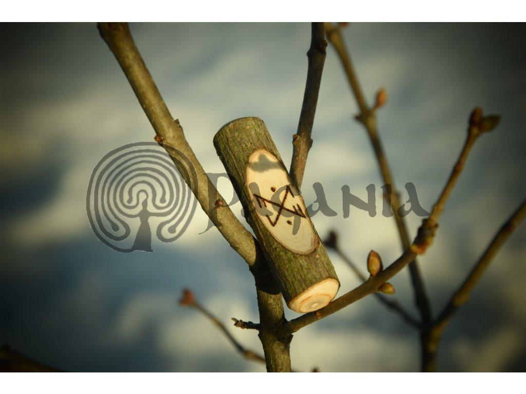 Runový amulet - ochrana a pomoc na cestách do jiných světů a při šamanském putování