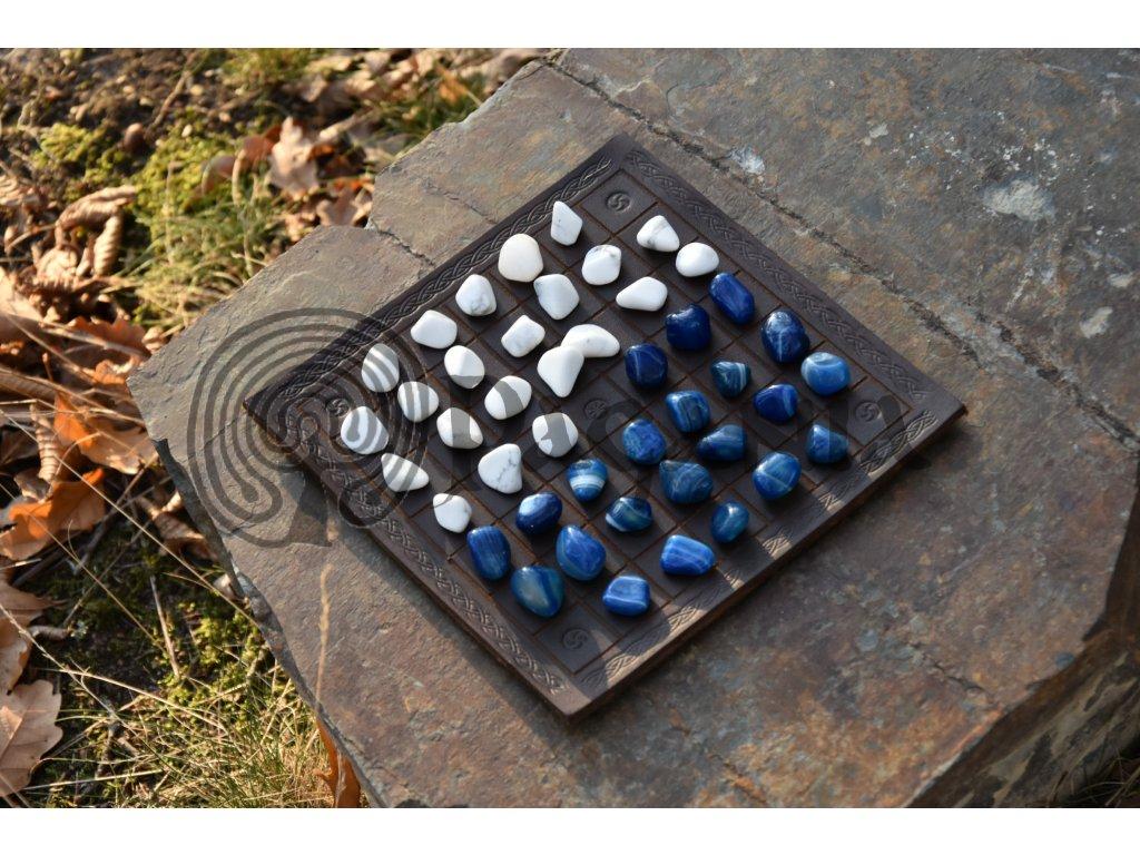 Halatafl staroseverská desková hra.