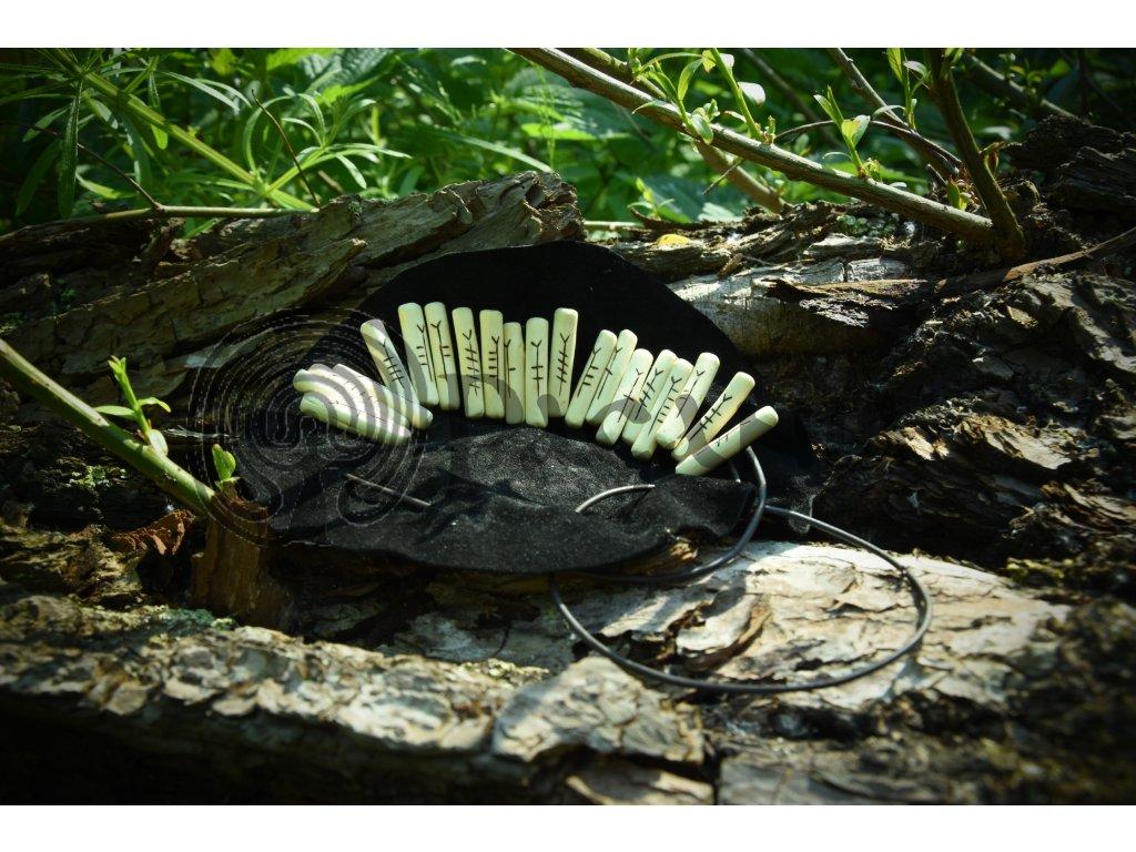 Keltská magie - stromové písmo. Druidské symboly ogham.