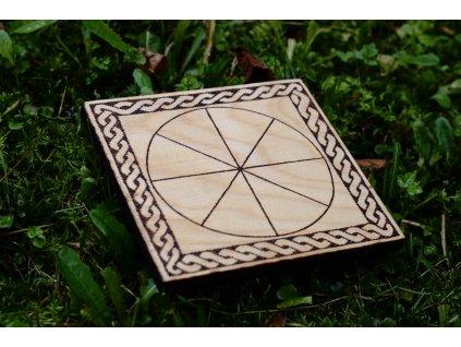 Keltská desková hra Rota. PAGANIA Viking Workshops