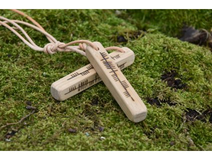 Keltský amulet Ogham