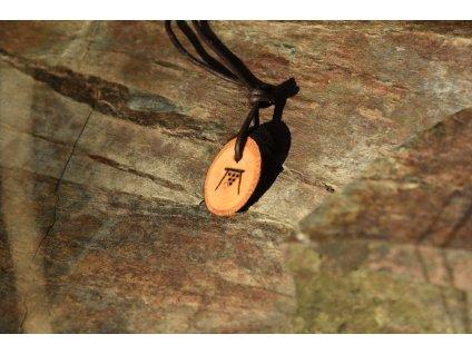Pohanský amulet Wicca Jule Yule