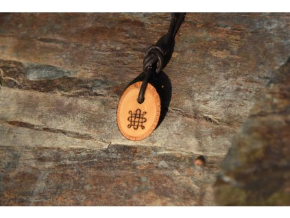 Pohanský amulet Wicca Samhain