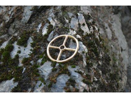 Amulet Taranisovo kolo - velké, STRADONICE