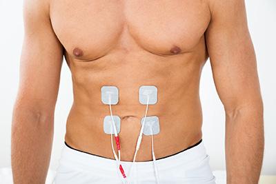 Stimulace svalů prostřednictvím EMS