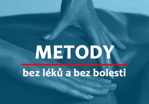 METODY - jak zvládnout bolest bez léků