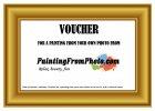 Paint Your Photo - VOUCHER