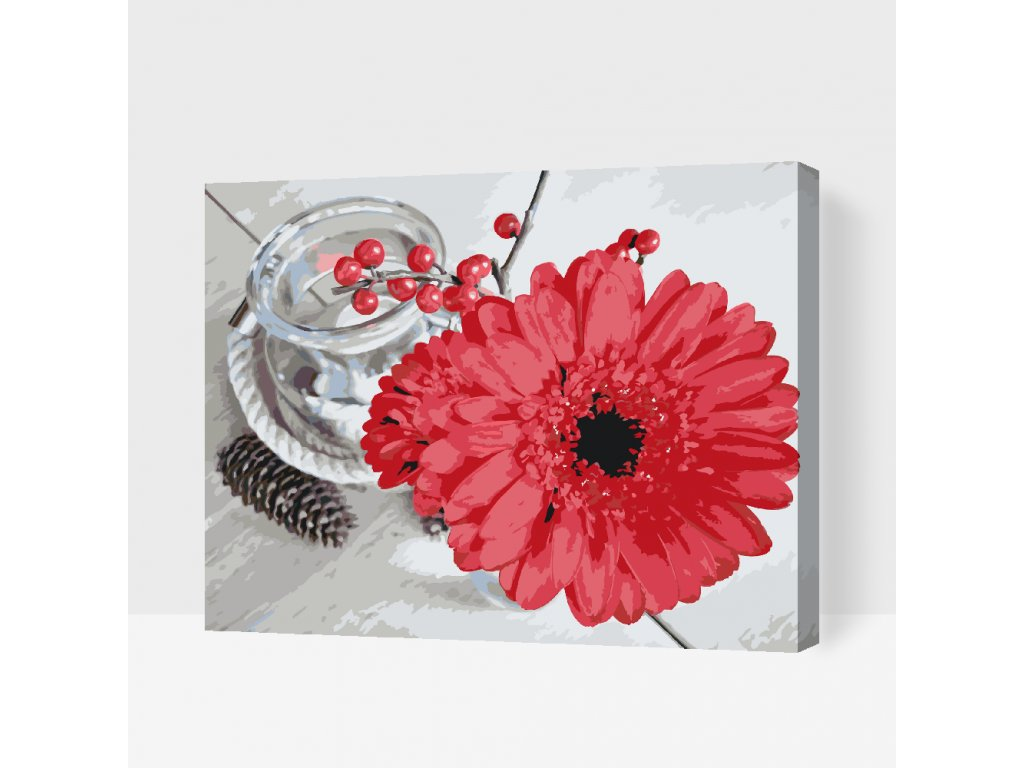 Paint by Number - Gerbera and Candle