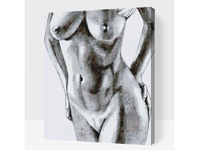 Paint by number - Nude